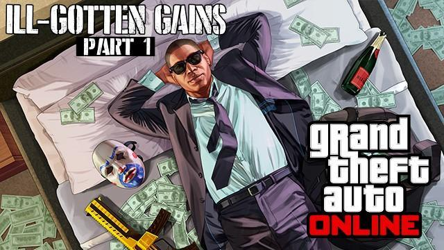 GTA V Title Update 1.27 Notes - Ill-Gotten Gains Part 1