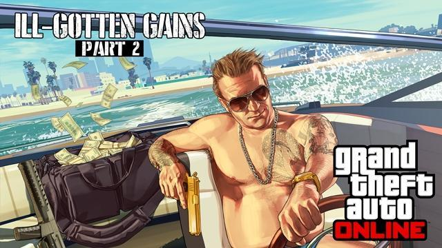 GTA V Title Update 1.28 Notes - Ill-Gotten Gains Part 2