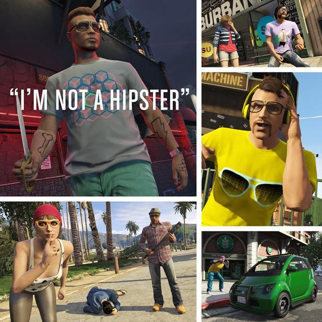 "The GTA Online ""I'm Not a Hipster"" Update Is Now Available"