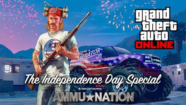 GTA V Title Update 1.15 Notes - Independence Day Special