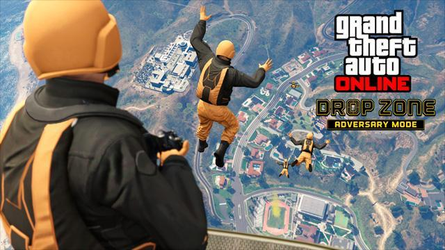 GTA V Title Update 1.32 Notes - January 2016 Update (Drop Zone Adversary Mode)