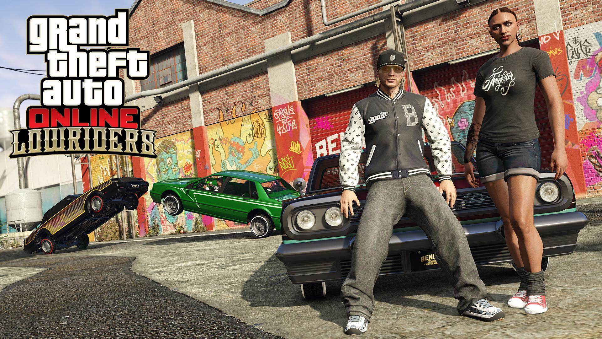 GTA Online: Lowriders Update Now Available
