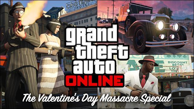 GTA V Title Update 1.10 Notes - Valentine's Day Massacre Special