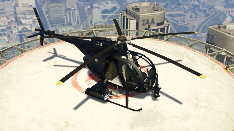 Buzzard Attack Chopper (Fully Upgraded)