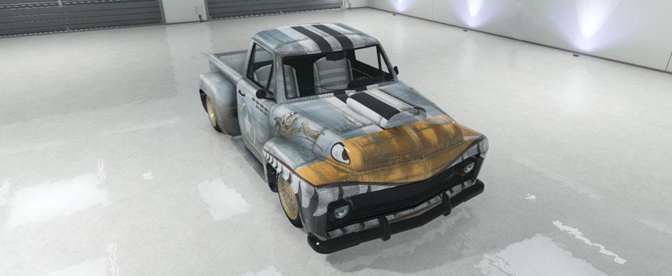 Slamvan Custom - Lowrider (GTA SA Slamvan w/ flame livery build)