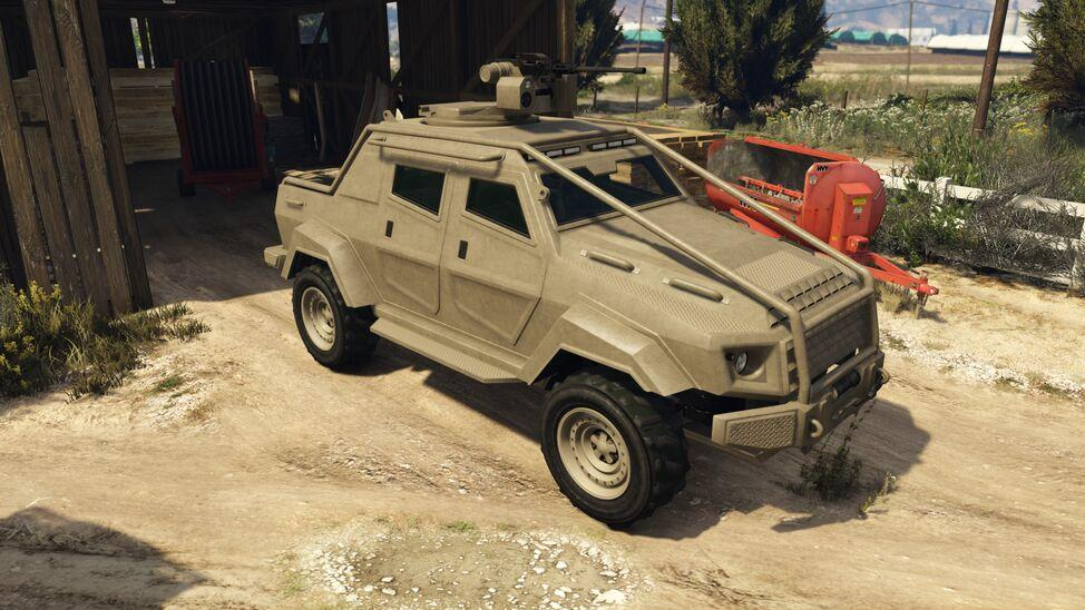 Insurgent Pick-up Custom (Fully Upgraded)