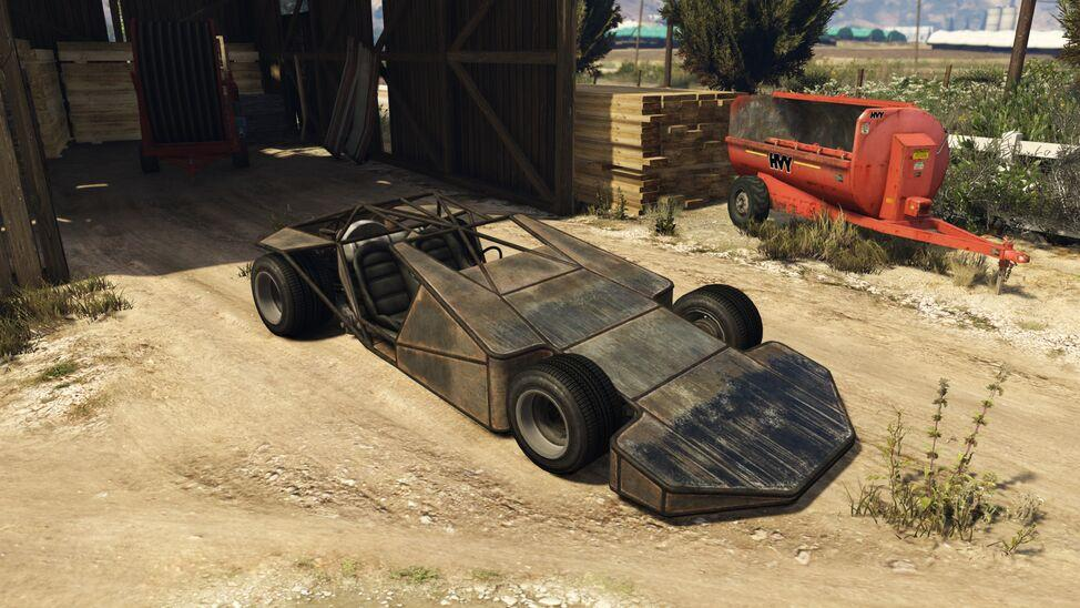 Ramp Buggy (Fully Upgraded)