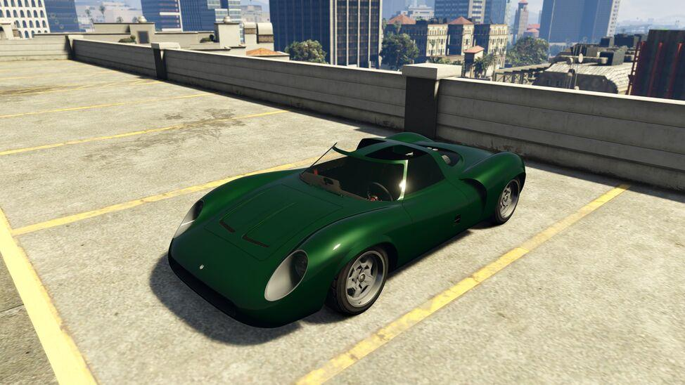 Swinger - Sports Classics (Jaguar XJ13 Green build)