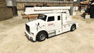 Utility Truck (Cherry Picker)