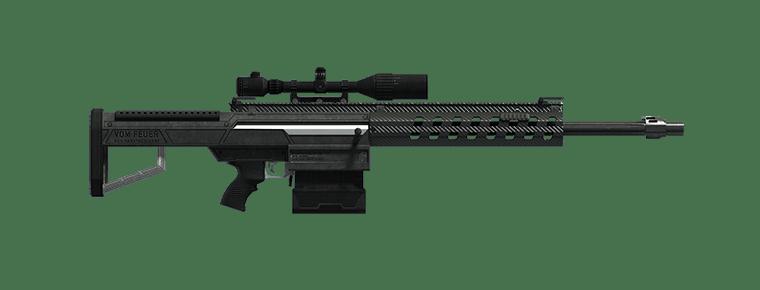 Heavy Sniper MK II - GTA V Weapons Database & Statistics - Grand