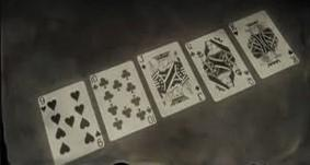 straight poker rdr2 help screen
