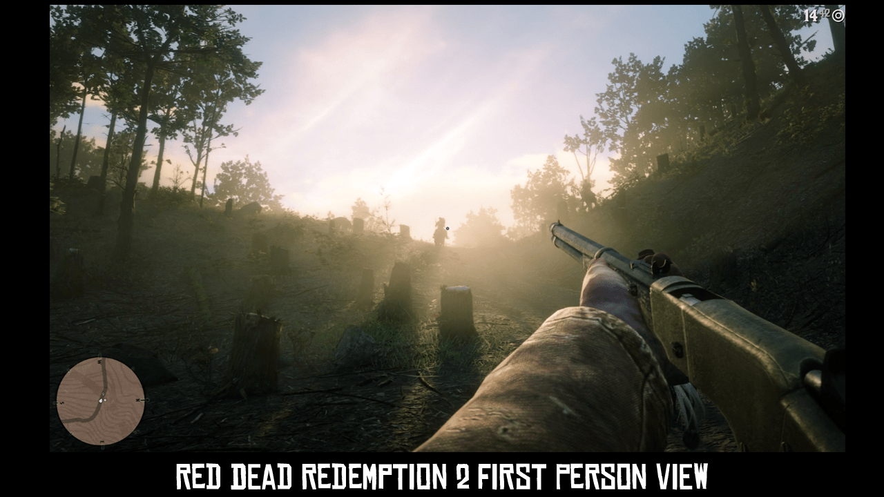 Here's a Look At Red Dead Redemption 2 in First-Person View