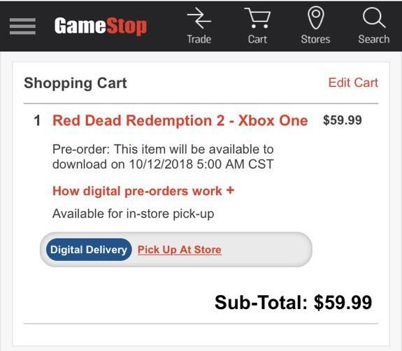 red dead redemption 2 ps4 download date