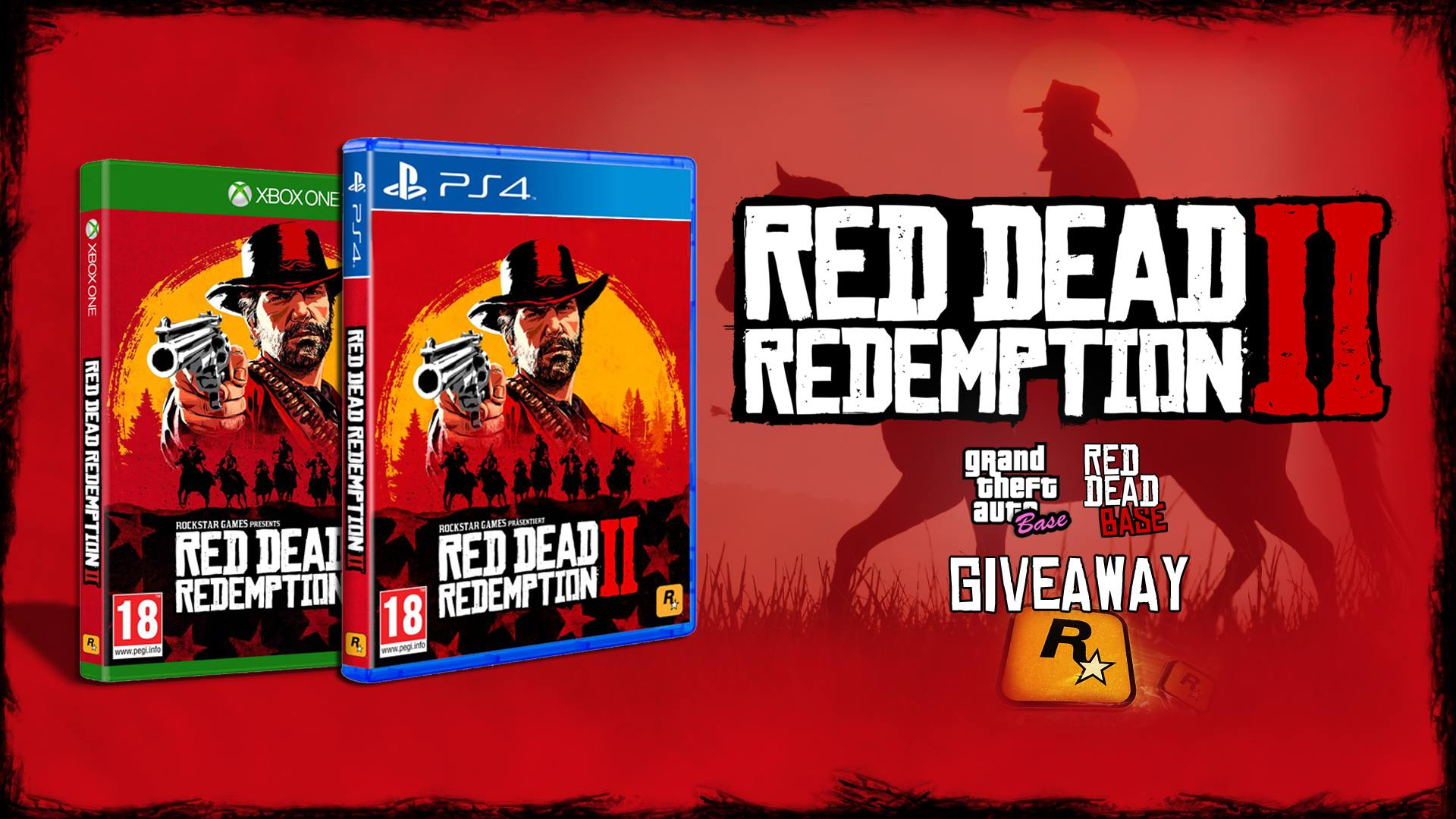 Red Dead Redemption 2 Giveaway - Win a copy for a console of your choosing!