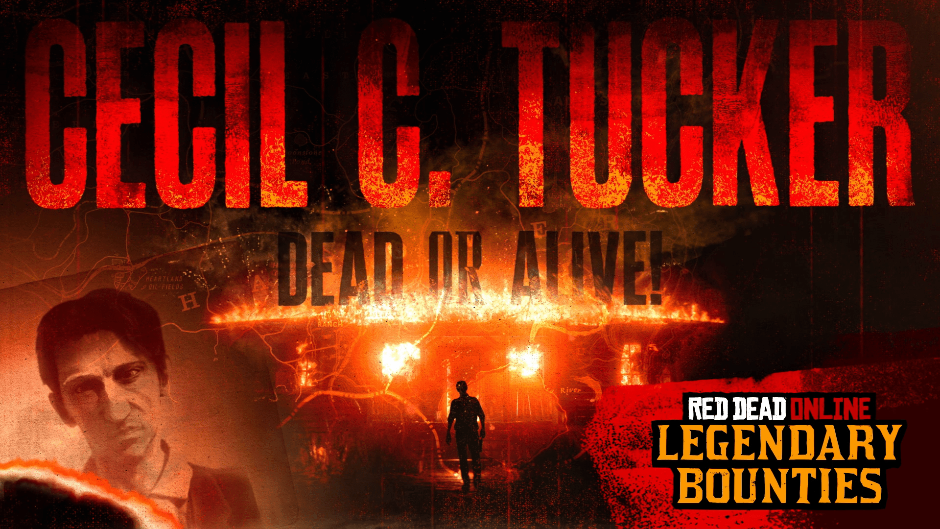 "Red Dead Online: New Legendary Bounty ""Cecil C. Tucker"" & more"