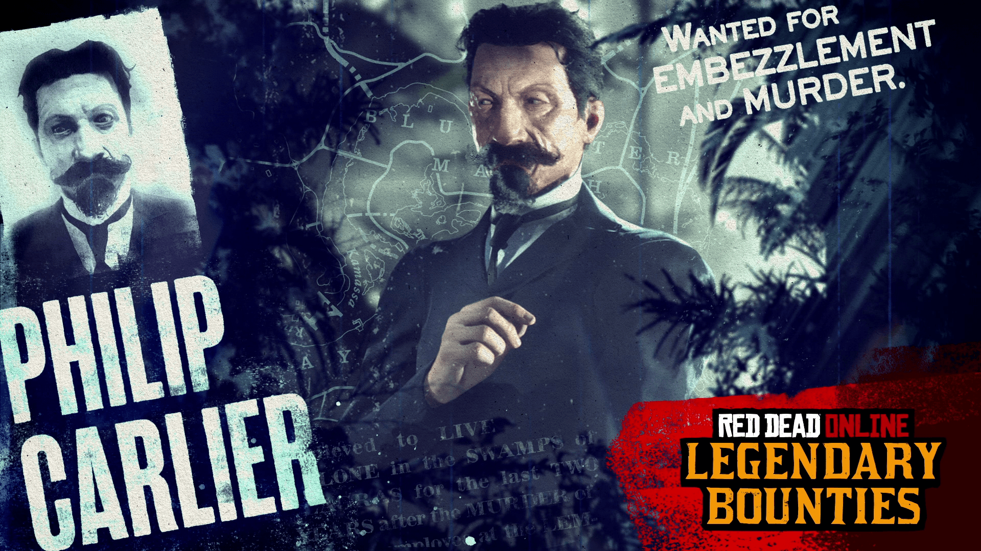 "Red Dead Online: New Legendary Bounty ""Philip Carlier"" & more"