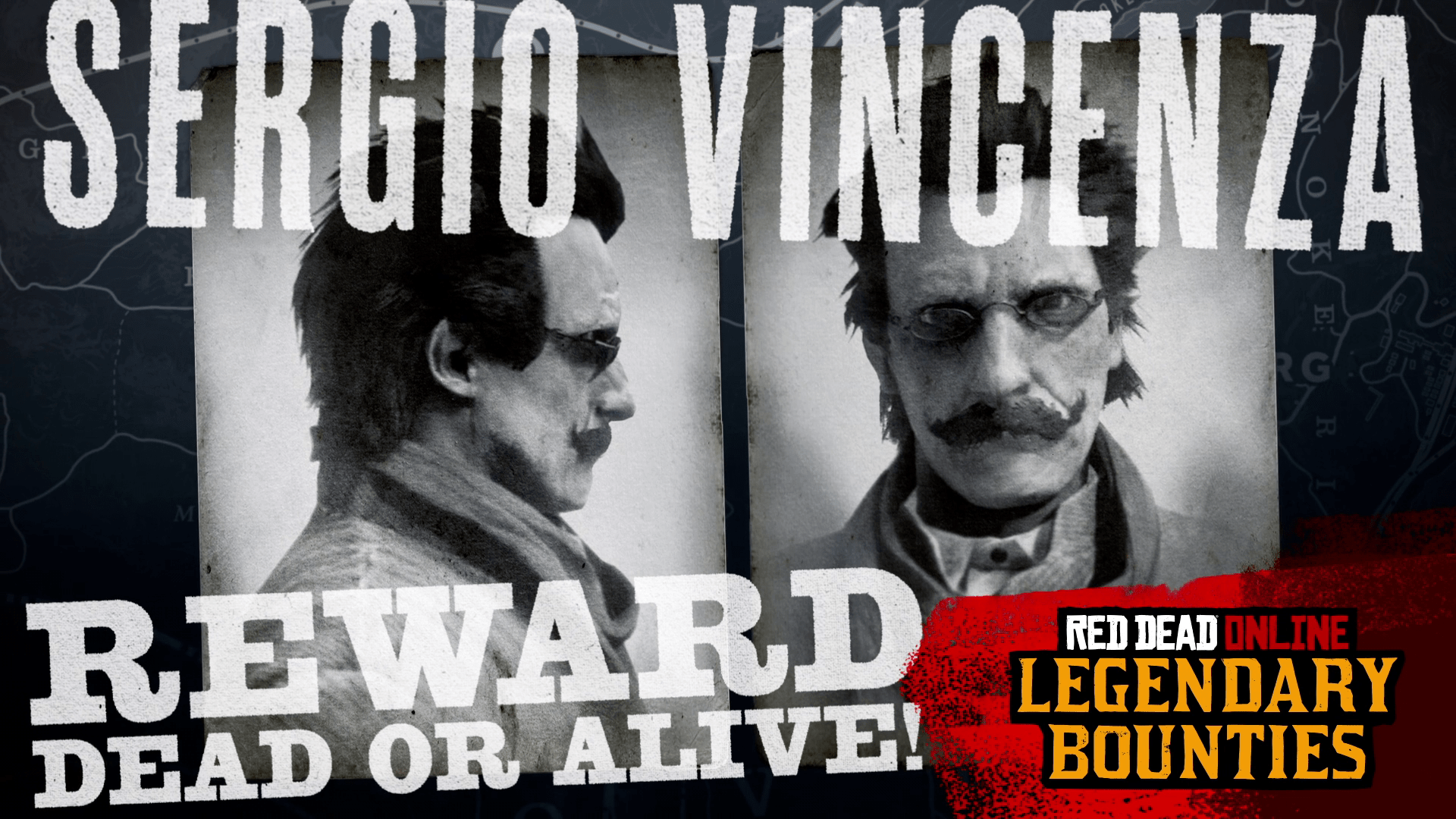 "Red Dead Online: New Legendary Bounty ""Sergio Vincenza"" & more"