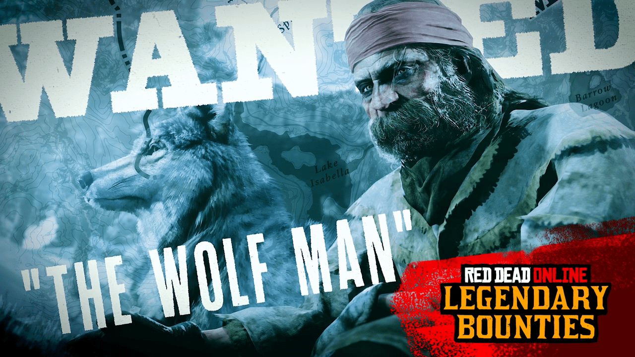 "Red Dead Online: ""The Wolf Man"" New Legendary Bounty Target & more"