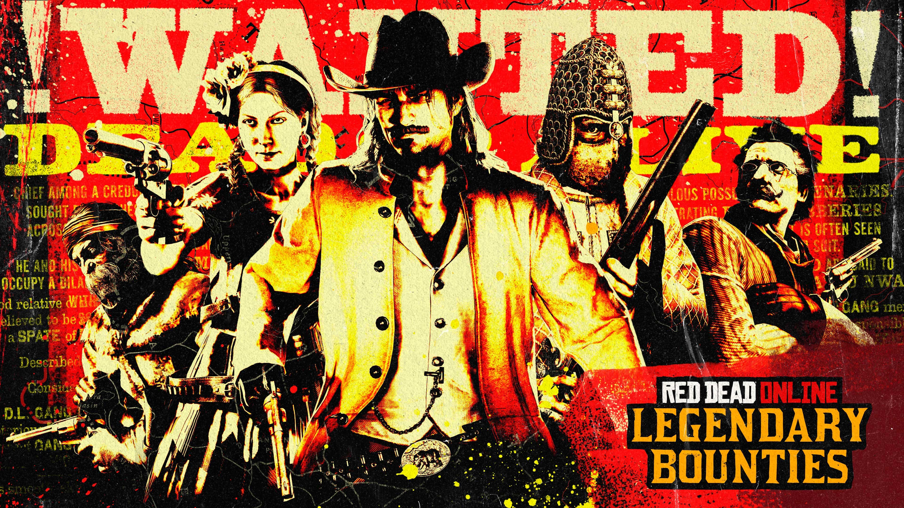 Red Dead Online: Final Week for Outlaw Pass No. 4, Bounty Hunters Bonuses, Discounts & more