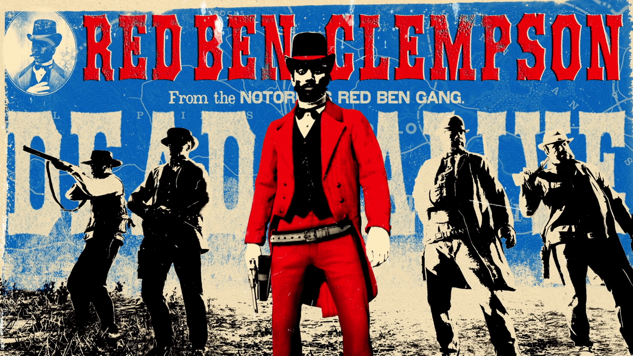 "Red Dead Online: New Legendary Bounty ""Red Ben Clempson"" & more"