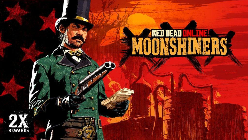 Red Dead Online: Moonshiners Bonuses, Free Fast Travels, Limited-Time Clothing & more