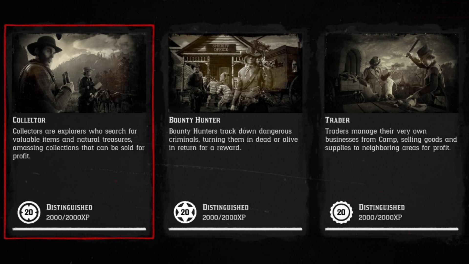 Red Dead Online: How to Easily Reach Rank 20 in the Collector Role and more (Thanks to the Community)
