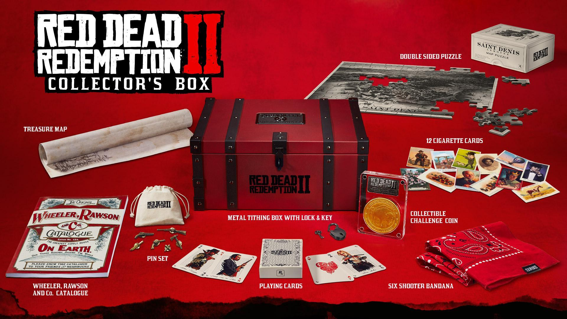 Red Dead Redemption 2 Collectors box is coming to Gamestop