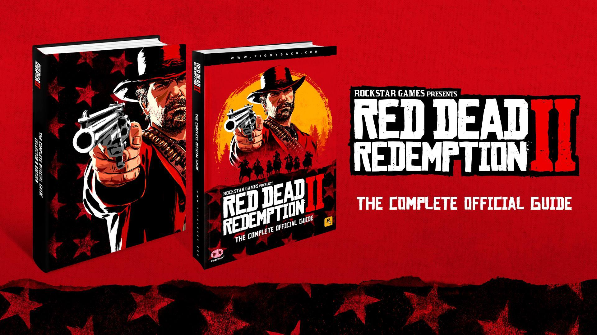 Red Dead Redemption 2: Official Complete Guide pre-order