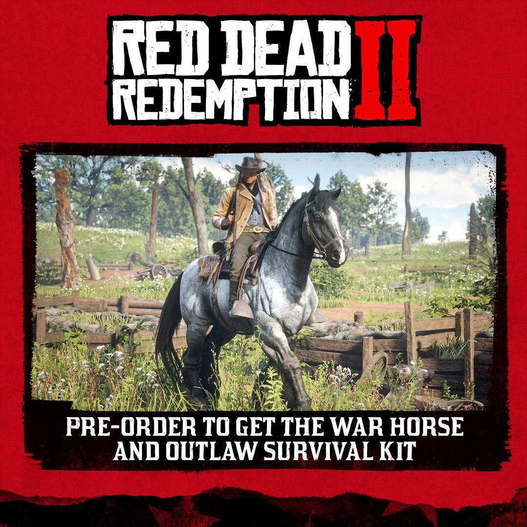 red dead redemption 2 pre order article