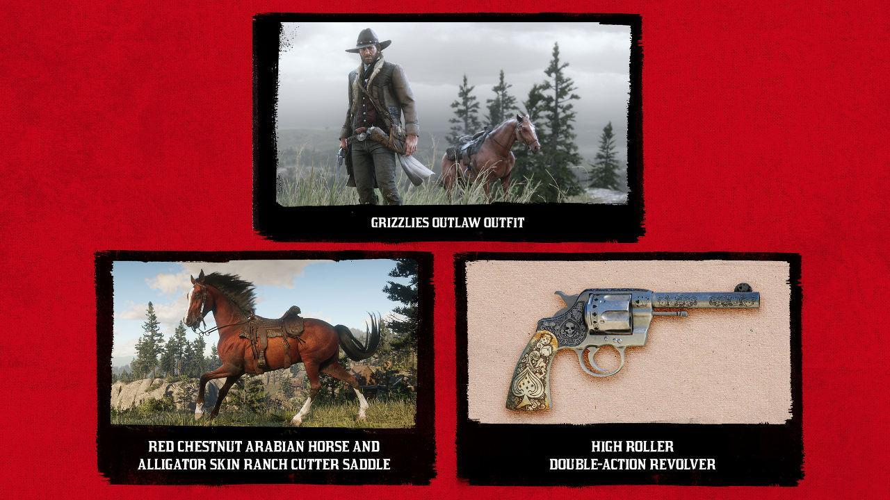Details on Early Access Red Dead Redemption 2 Content for PS4 (with Screenshots)