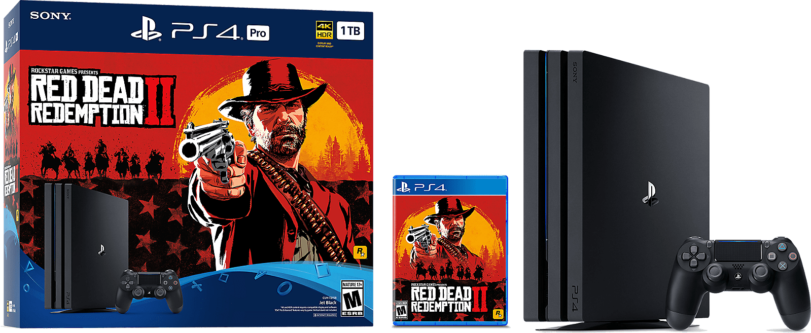 Red Dead Redemption 2 PS4 Pro Bundle, Install Size and more