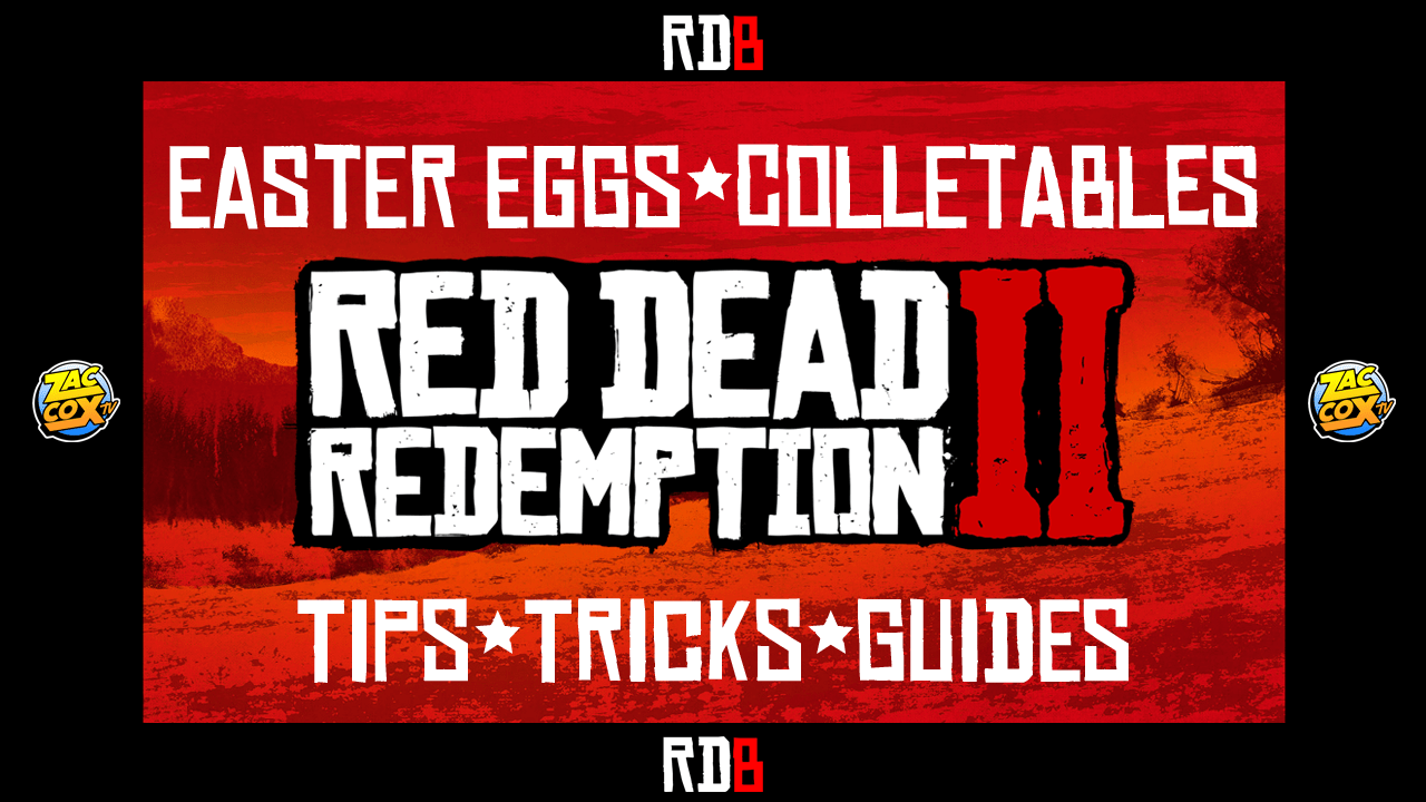 Red Dead Redemption 2 Easter Eggs Video Guide Top 20
