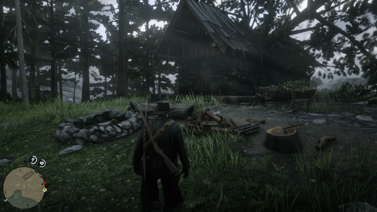 RDR2 Hewing Hatchet location1