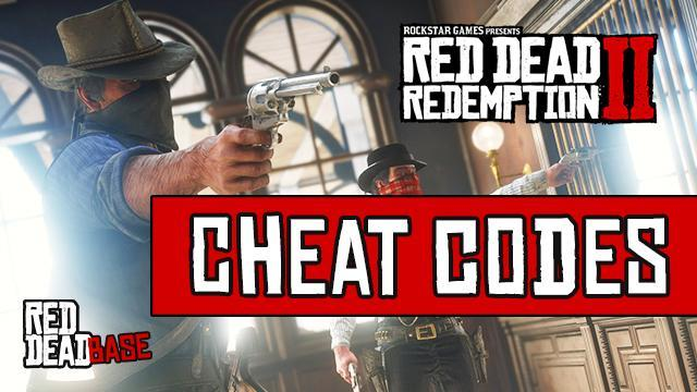 Red Dead Redemption 2 Cheat Codes List (PS4 & Xbox One