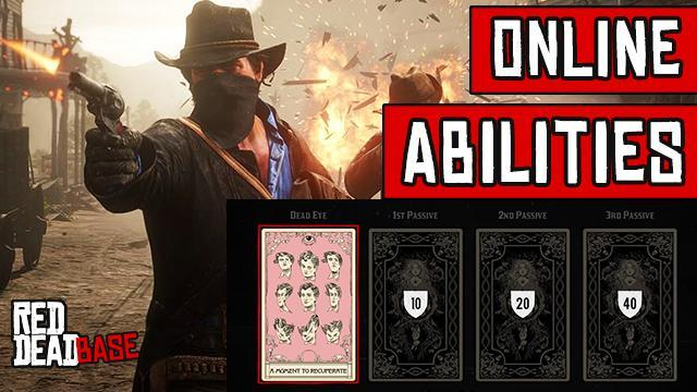 Red Dead Online Ability Cards - Full List of Character Abilities Loadout