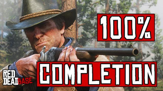 Red Dead Redemption 2: 100% Completion Guide & Checklist