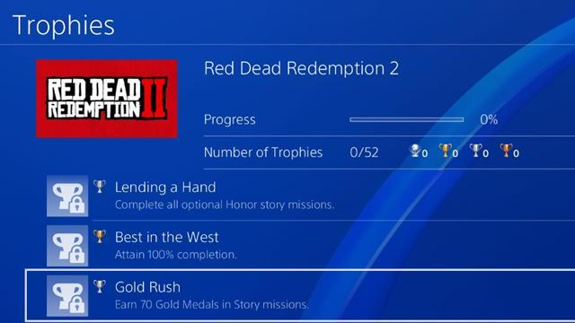 Red Dead Redemption 2 Achievements & Trophies - Full List (PS4 & Xbox One)