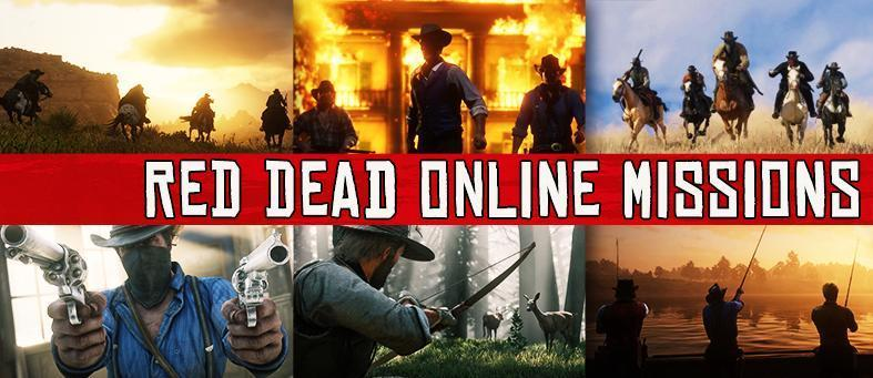 The complete and interactive Red Dead Online Jobs Database, featuring the full list of Multiplayer Missions in Red Dead Redemption 2 for PS4 & Xbox One.