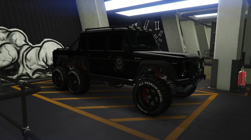 Custom Dubsta 6x6 by vex