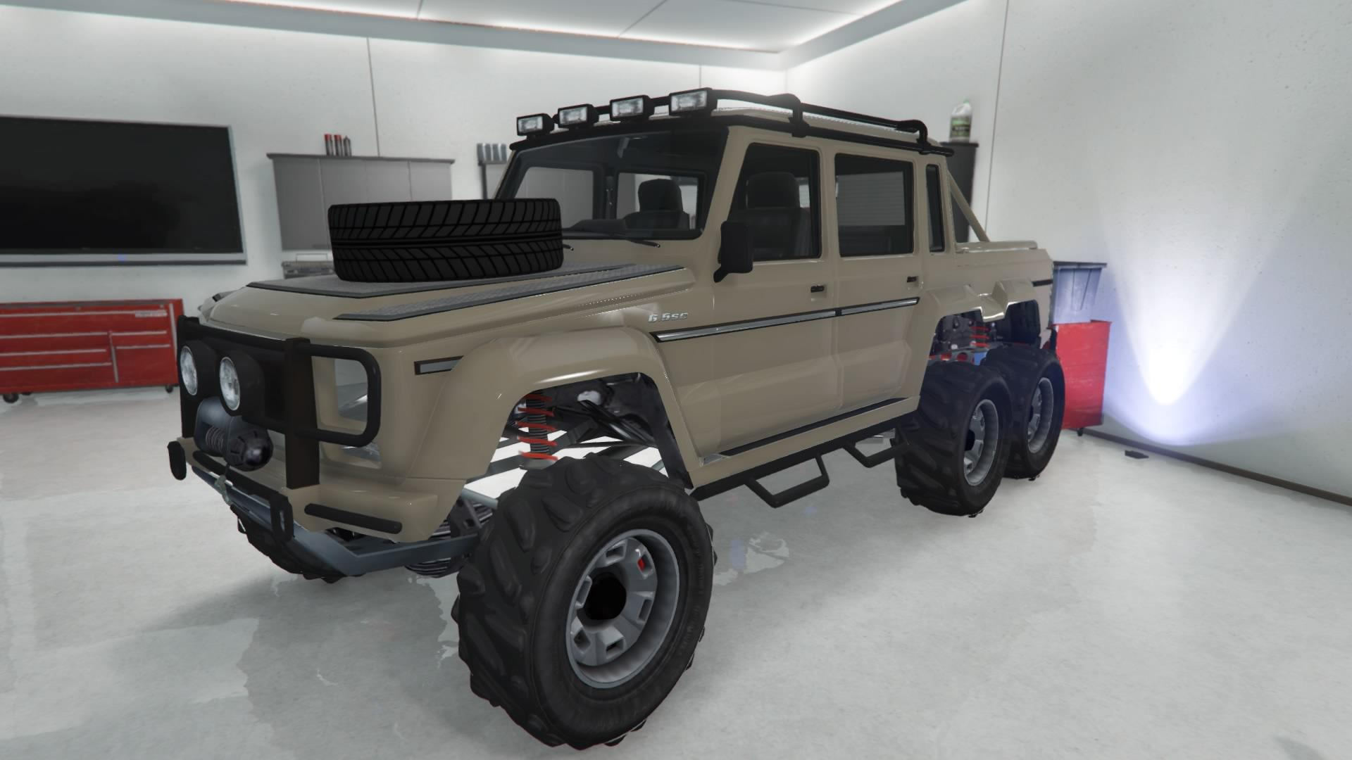 Custom Dubsta 6x6 by Teknivor