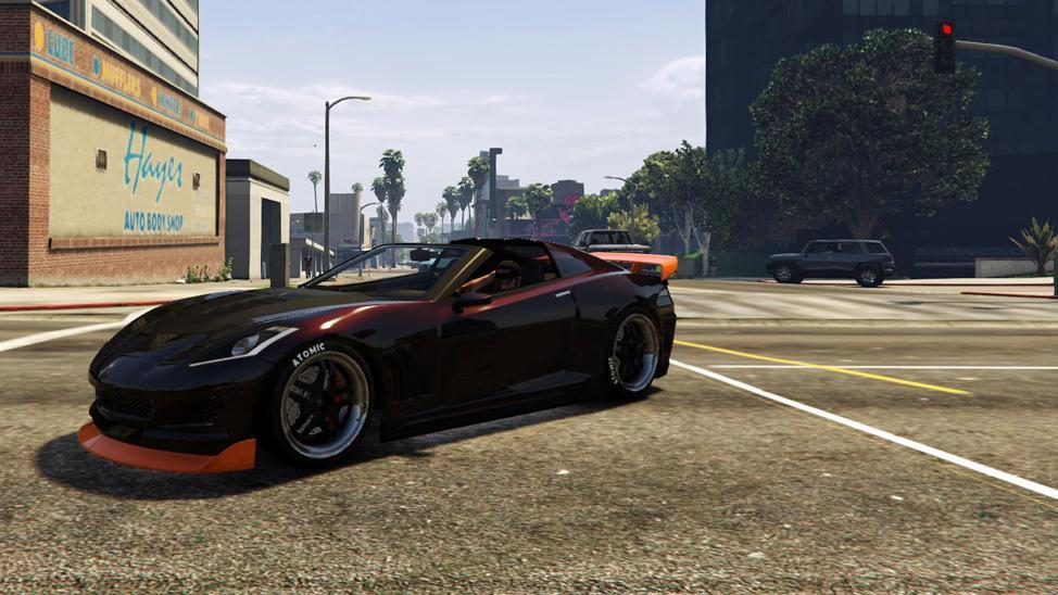 Custom Coquette (Topless) by SpanishGeorge