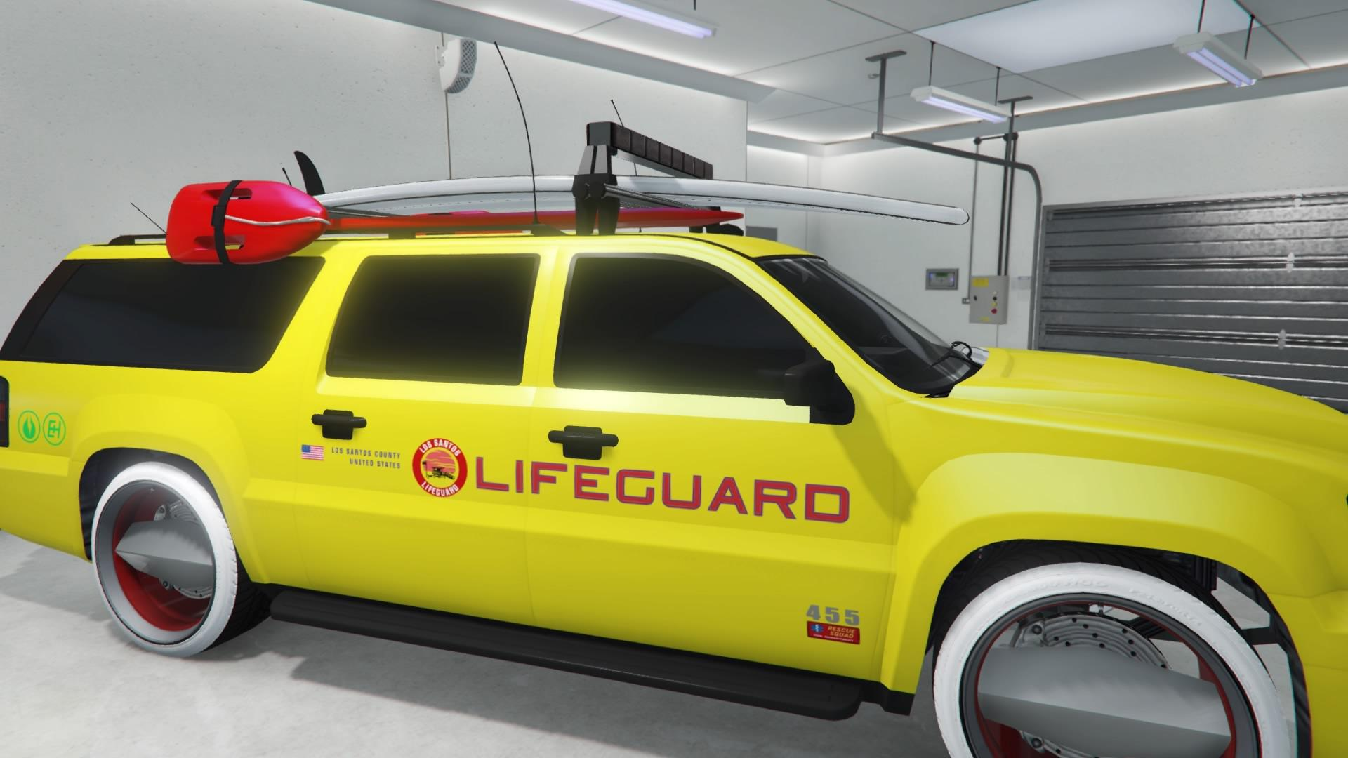 Lifeguard Granger (Fully Upgraded)