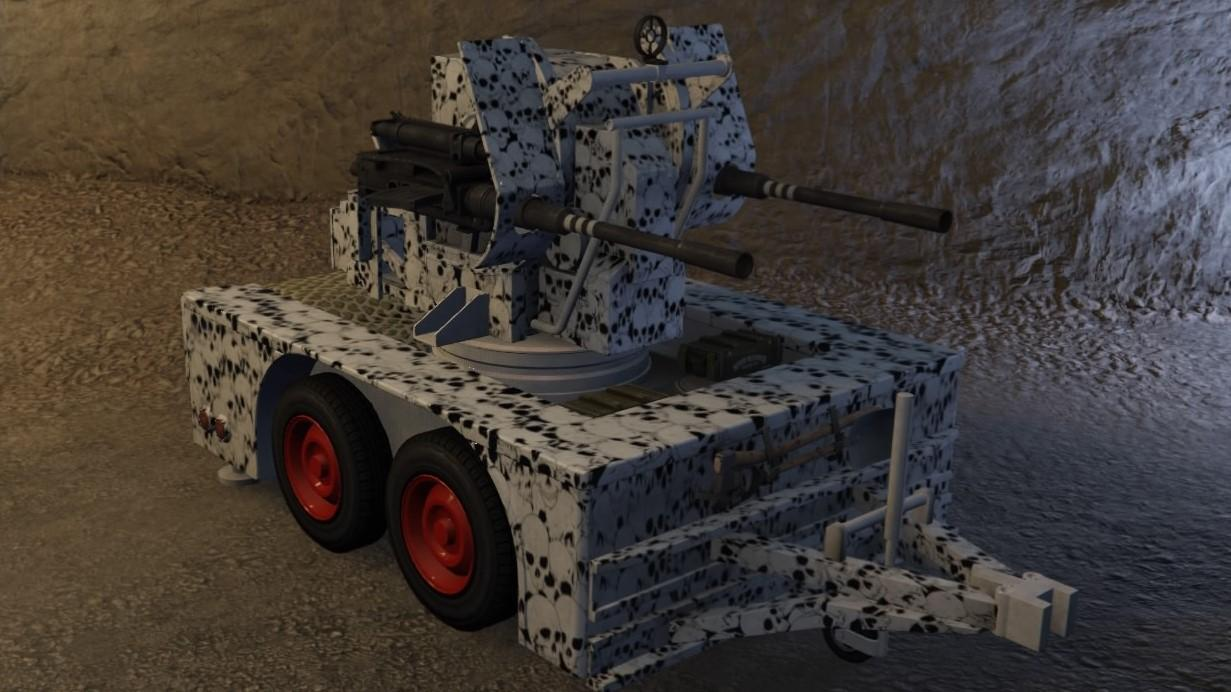 Custom Anti-Aircraft Trailer by ash_274 Nickle