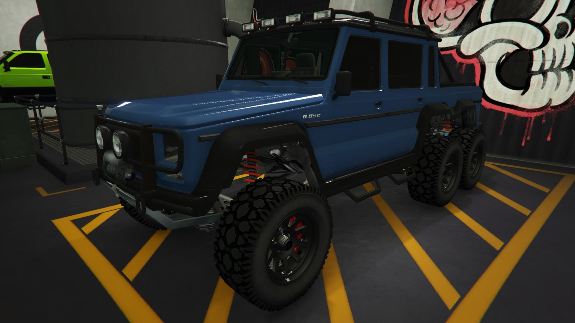 Custom Dubsta 6x6 by Mr.Zolf