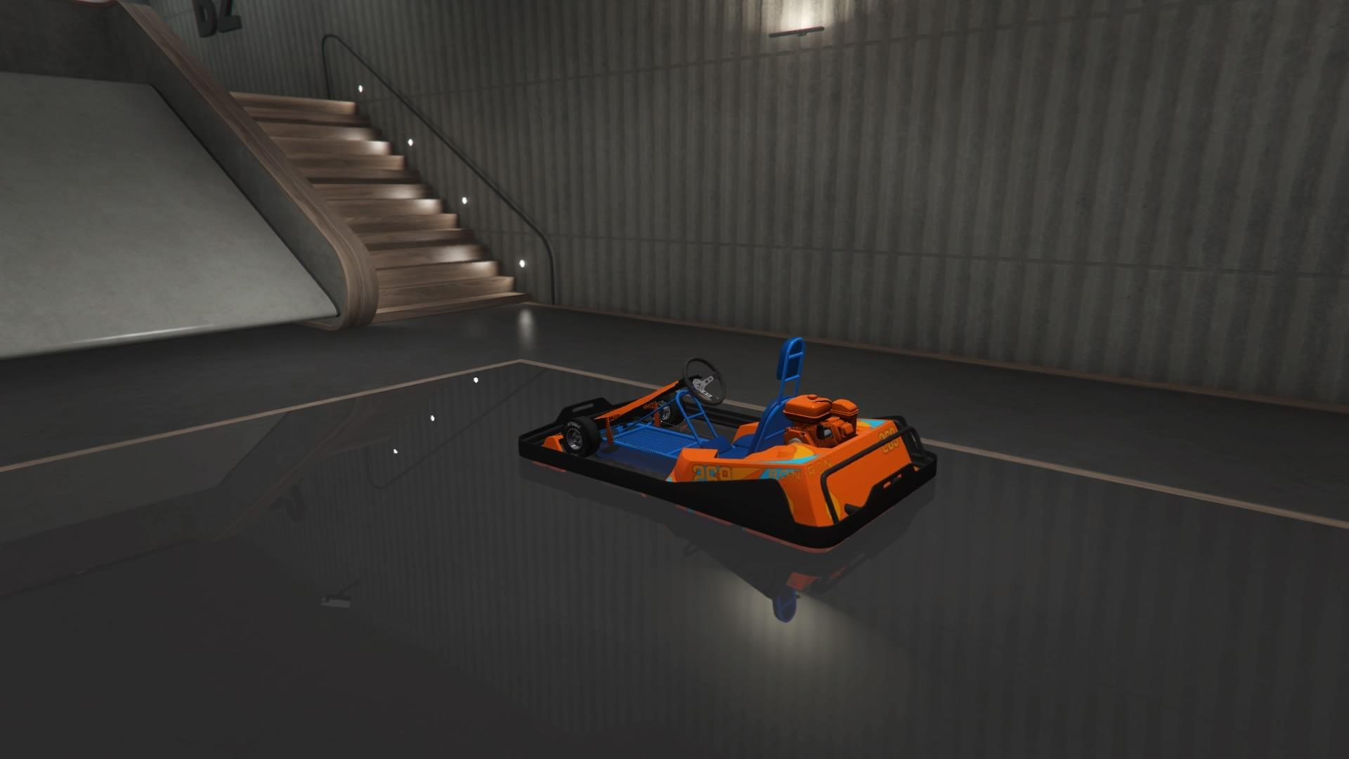 Veto Modern (Go-Kart) (Fully Upgraded)