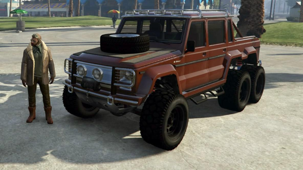 Custom Dubsta 6x6 by SB55MRX