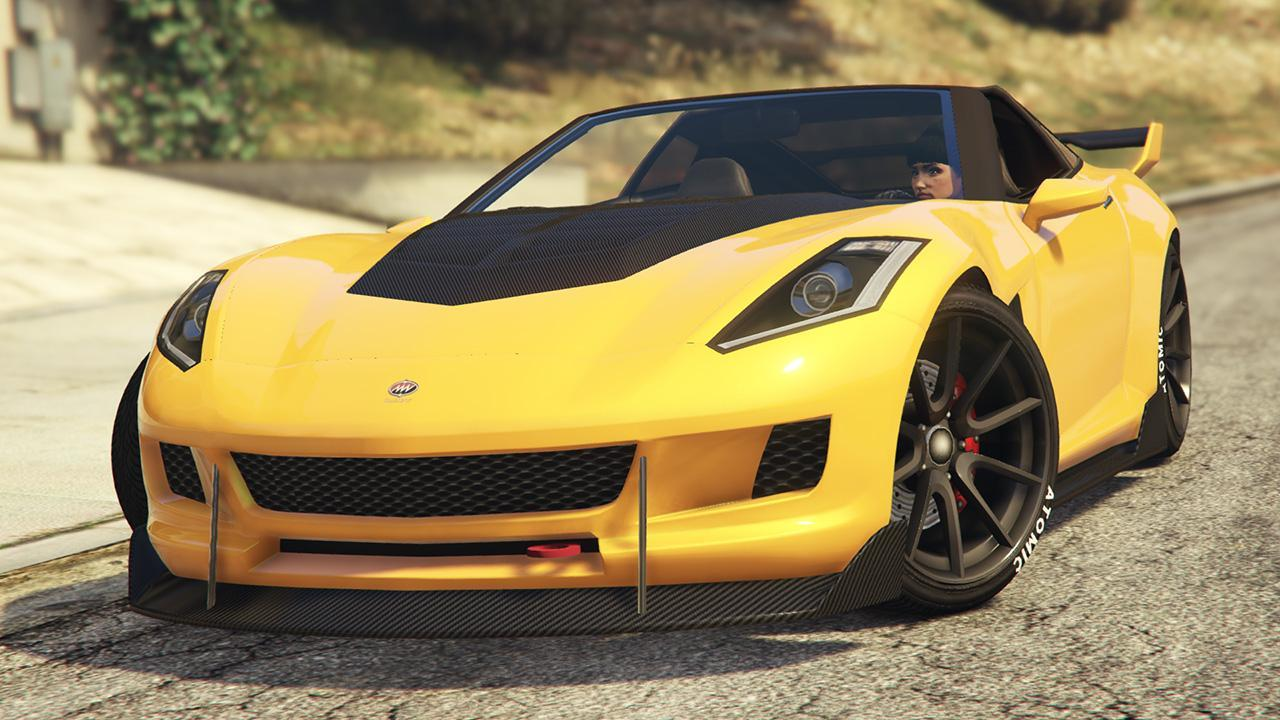 Custom Coquette (Topless) by GTA Vibes