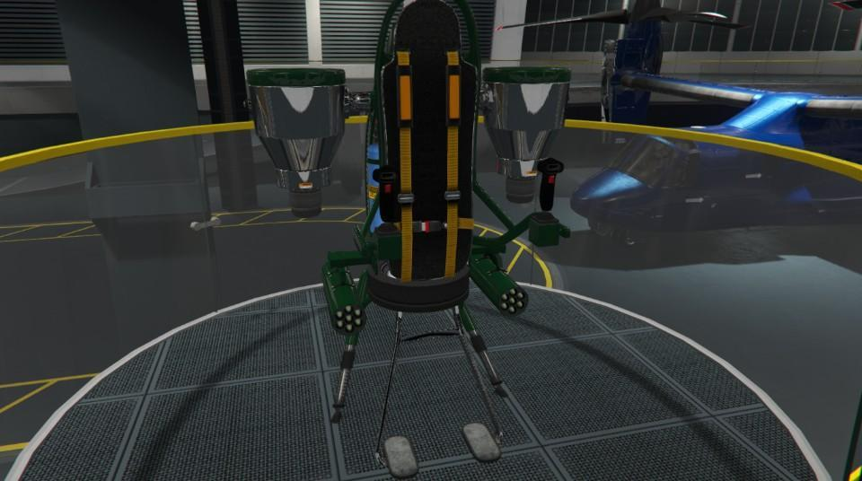 Custom Thruster Jetpack by Artuto