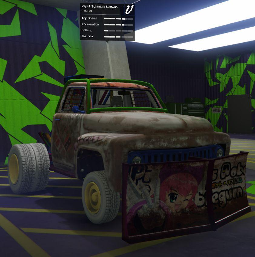 Nightmare Slamvan