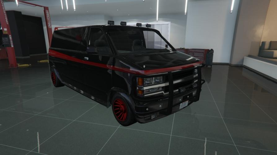Gang Burrito - 1983 GMC Vandura from the A-Team